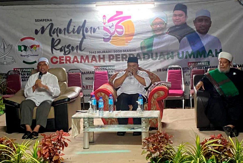 UMNO dan PAS sehati sejiwa membicarakan perpaduan ummah