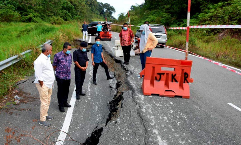 MB lulus peruntukan segera RM88,000 bagi membaiki jalan ke Hulu Tembeling yang mendap dan runtuh
