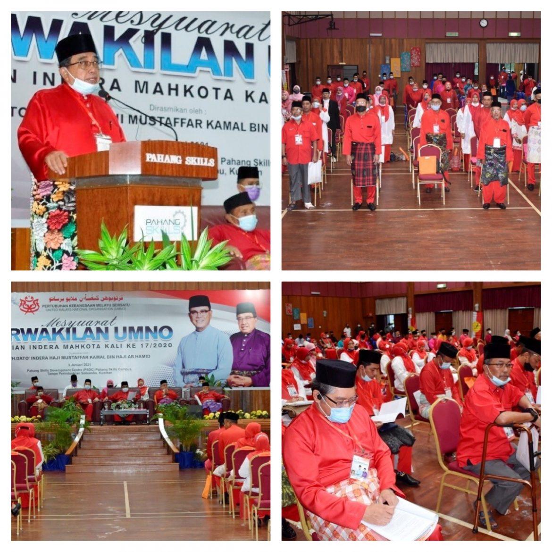 UMNO mahu tandingi kerusi Parlimen Indera Mahkota, DUN Semambu