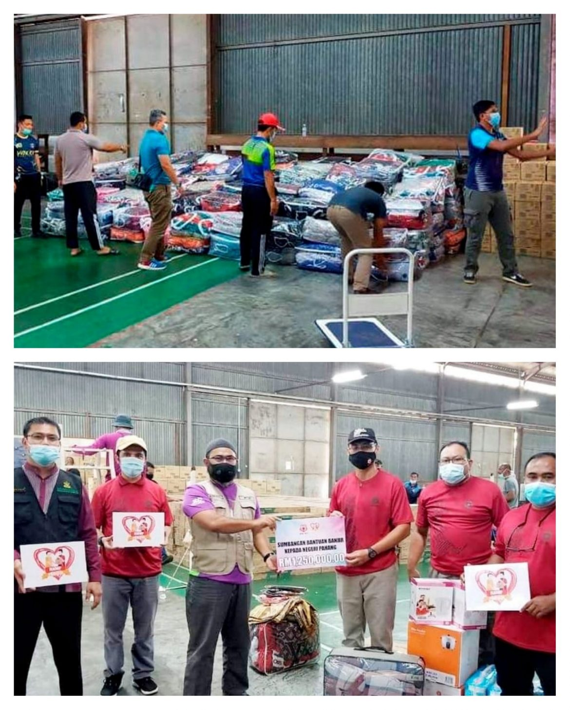 MAIWP salur RM1.25 juta bantuan banjir untuk asnaf