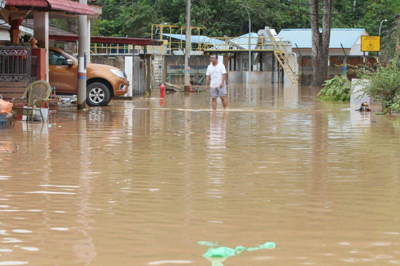 Mangsa banjir di Maran meningkat 4,483 orang
