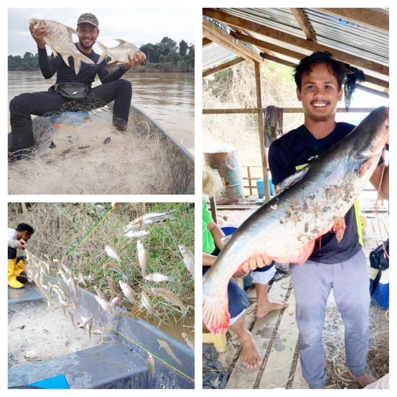 Rezeki nelayan darat bertambah selepas banjir surut