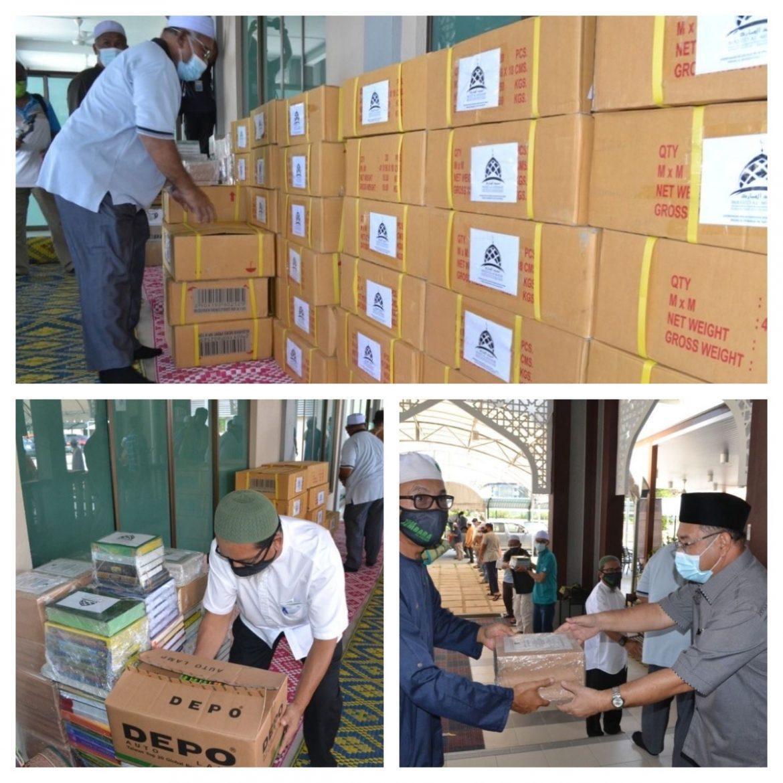 Kumpul 8,000 naskhah al-Quran, surah Yasin dalam tempoh 10 hari