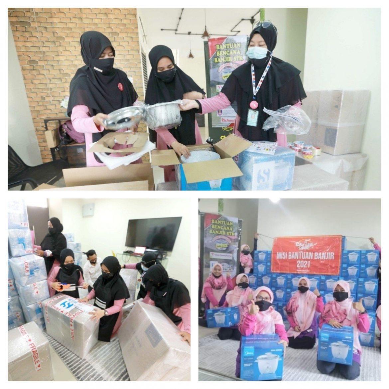 Guna khidmat Poslaju kirim 300 periuk nasi kepada mangsa banjir di Pahang