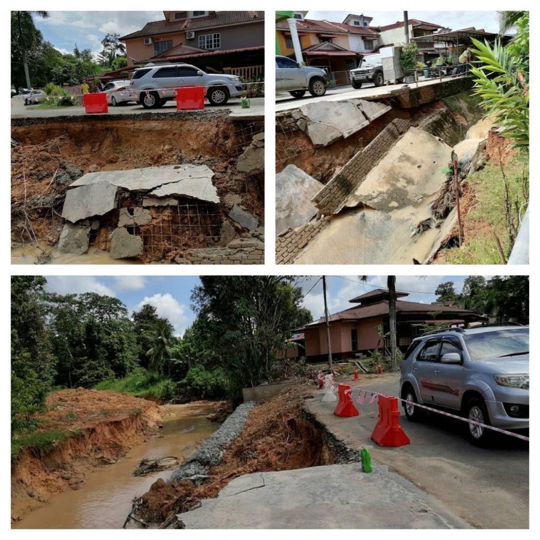MB arah baik pulih segera tanah runtuh di Taman Wira, Pedah, Jerantut