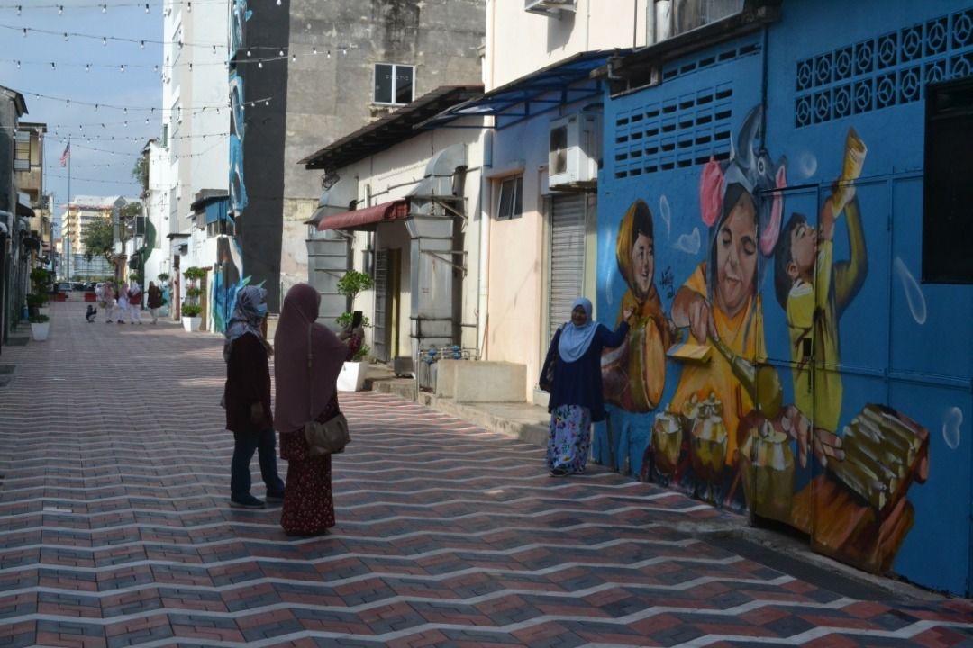CCTV pantau keselamatan, vandalisme di Kuantan Art Street
