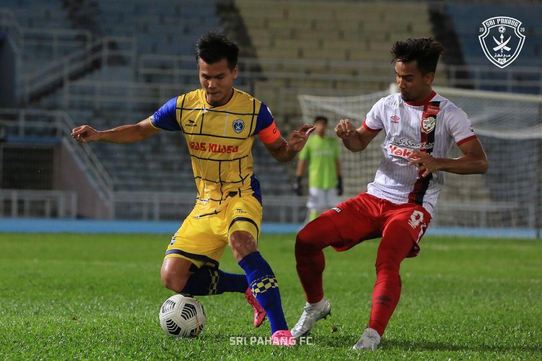 Sri Pahang belum cukup berbisa biarpun menang besar ke atas Kelantan United