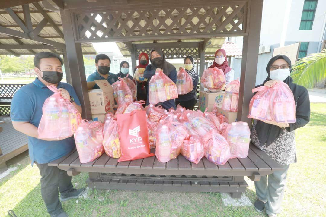 KYP sedia bantuan makanan kepada pelajar kuarantin