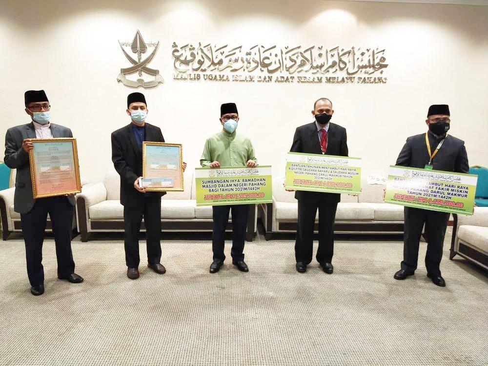 MUIP sedia RM10 juta untuk sumbangan Ramadan