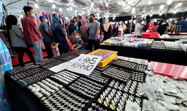 Semua bazar Aidilfitri di Pahang dibenar beroperasi hingga jam 2 pagi