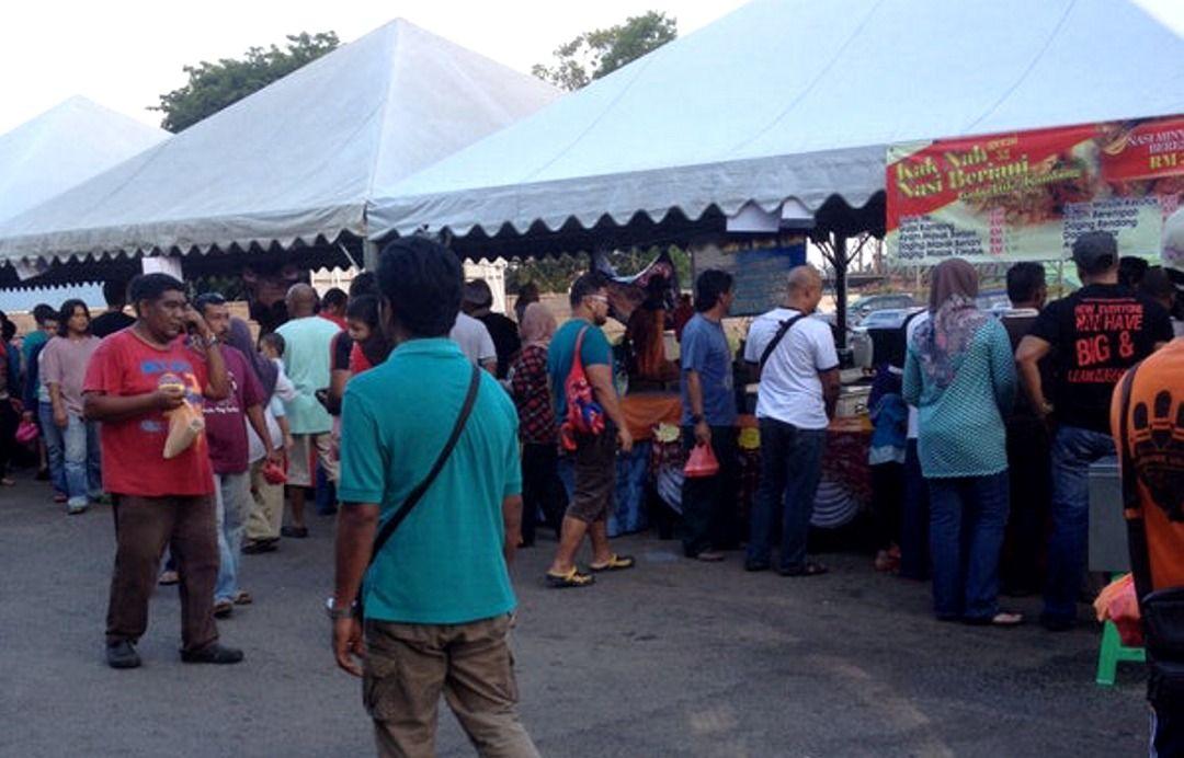 Langgar SOP: Bazar Ramadan Balok diarah tutup