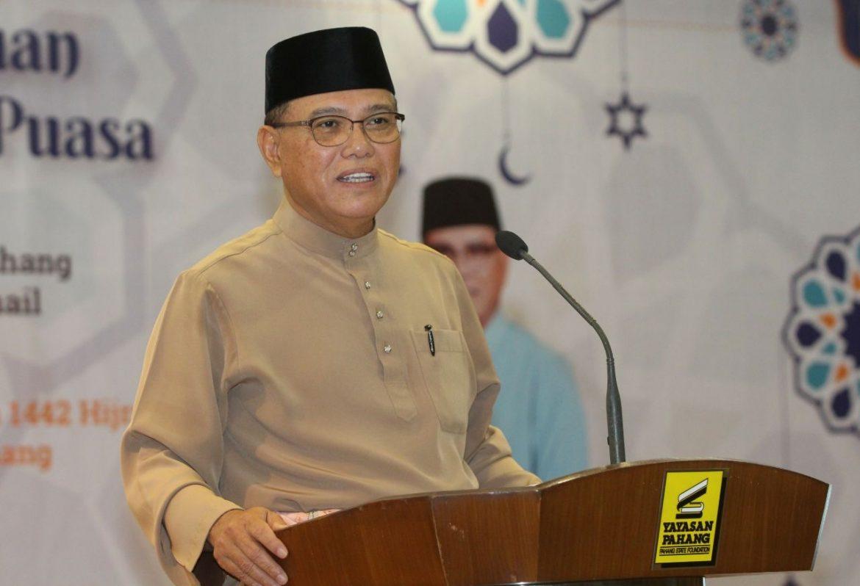 MB hadiahkan bonus sebulan gaji kepada semua kakitangan Yayasan Pahang