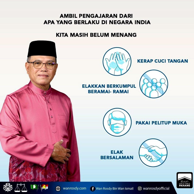 Pahang perlu capai imuniti kelompok sebelum musim tengkujuh