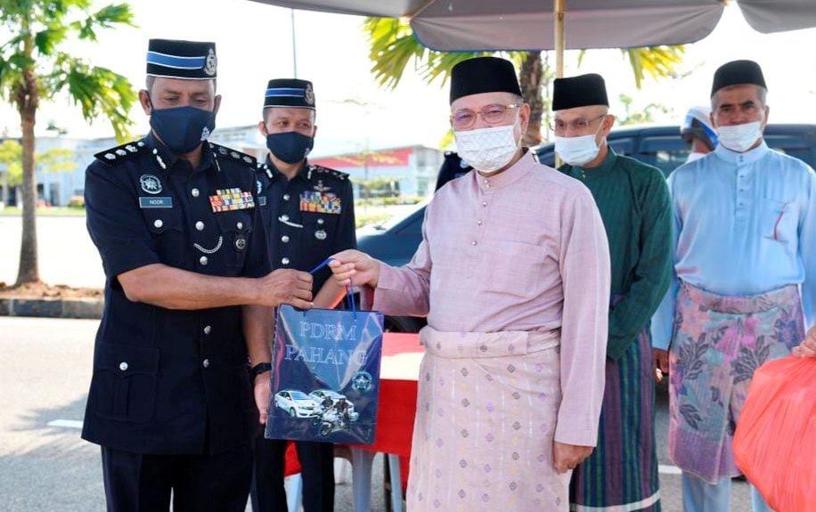 Penduduk 'ghaib' diminta buat ujian calitan segera – Ketua Polis Pahang