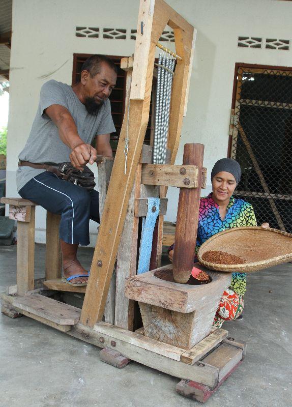 Inovasi lesong kaki Kampung Nenasi