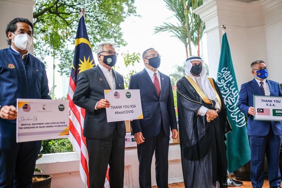 Agong dan Permaisuri Agong zahir ucapan terima kasih kepada Arab Saudi atas pemberian vaksin