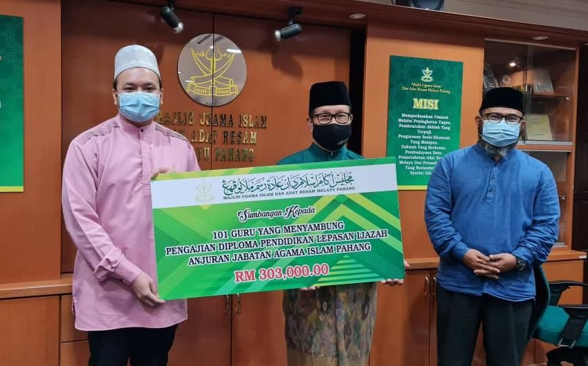 101 guru agama terima bantuan untuk melanjutkan pelajaran