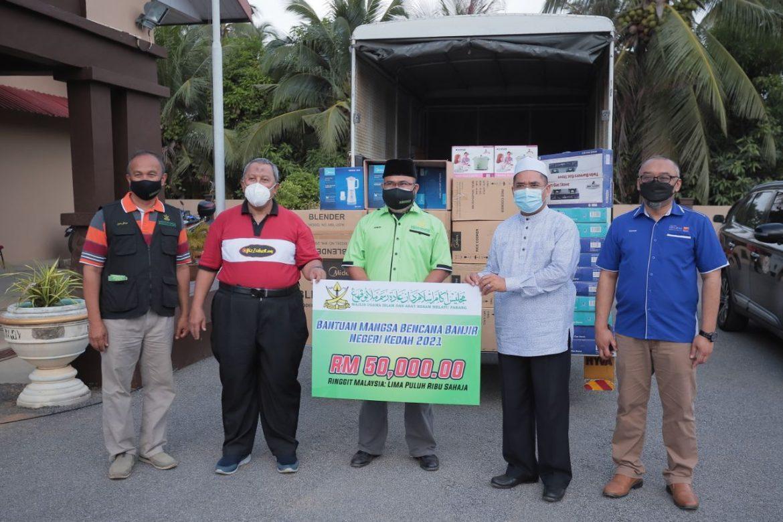 MUIP sumbang RM50,000 buat mangsa kepala air Gunung Jerai