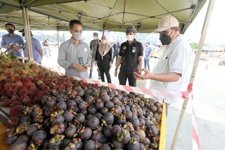 Warga Pahang tolonglah patuh SOP di pasar tani UTC