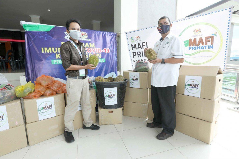 Durian, manggis, rambutan buat frontliners