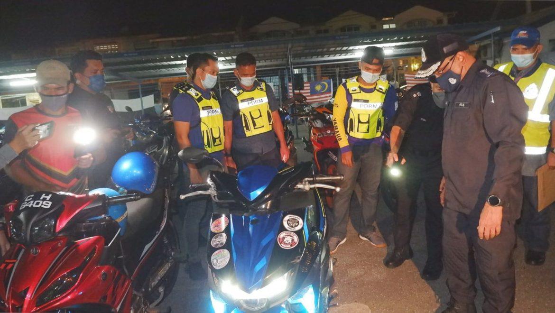 74 individu ditahan dalam ops samseng jalanan