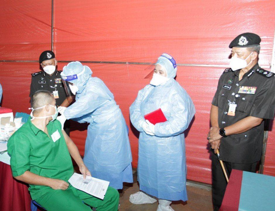 Semua banduan di Penjara Bentong lengkap vaksinasi