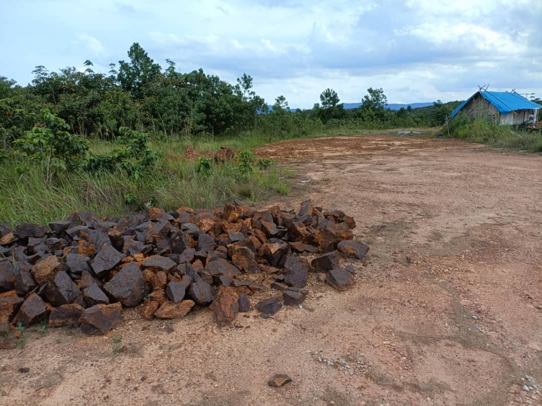 Ceroboh hutan simpan untuk melombong bijih besi