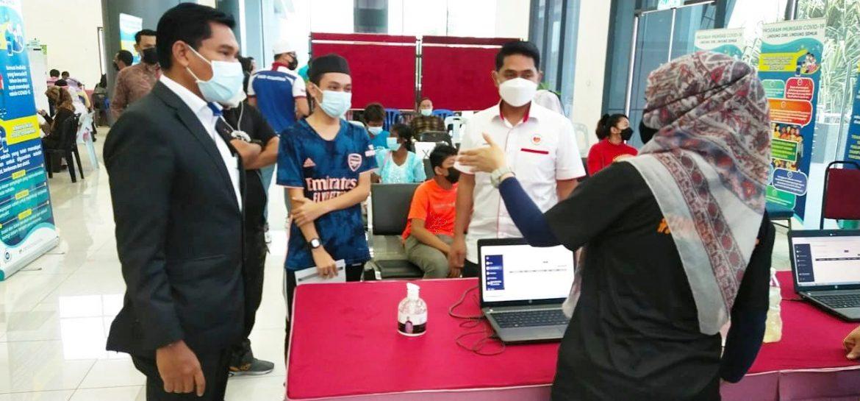 Program vaksinasi 'walk in' MBK dapat sambutan