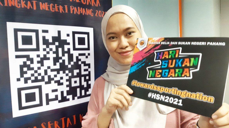 Aktiviti Hari Sukan Negara dalam talian