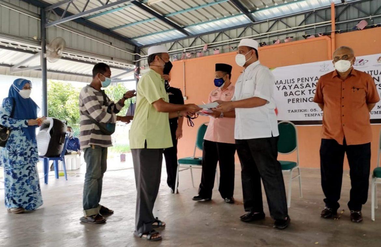 Terima Kasih YPM, nolong anok orang susoh di Kuala Krau